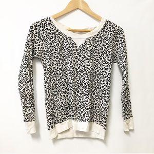 Victoria's Secret thermal top leopard print Small